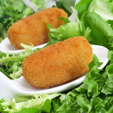 Spanish croquettes Stock Photos