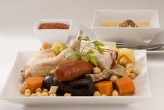 Spanish cuisine.Cocido. Stock Image