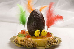 Spanish cuisine. Easter cake. Royalty Free Stock Images