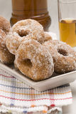 Spanish cuisine. Sweet fritters. Royalty Free Stock Images