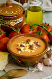 Spanish Cuisune. Salmorejo. Stock Photography