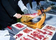 Spanish cured ham Stock Images