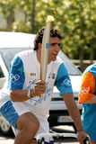 Spanish cyclist Miguel Indurain Royalty Free Stock Photos