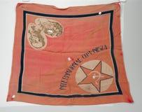 spanish cywilna wojna Banderka Komunistyczny zawody międzynarodowi obrazy stock