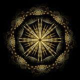 Spanish Damascene starburst royalty free illustration
