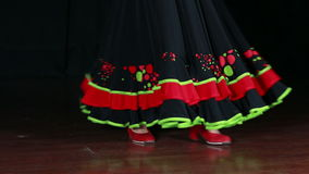 Spanish Dance 01 stock video footage