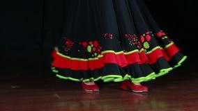 Spanish Dance 01 stock video footage