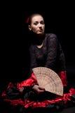 Spanish dancer Royalty Free Stock Photos
