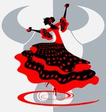 spanish dancer Stock Photo