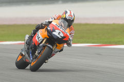 Spanish Dani Pedrosa of Repsol Honda Team Royalty Free Stock Image