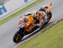 Spanish Dani Pedrosa of Repsol Honda Team Stock Images