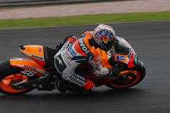Spanish Dani Pedrosa Repsol Honda2007 at Polini Ma Royalty Free Stock Images