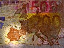 Spanish debt crisis Stock Image