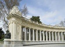Spanish decorative architecture Stock Photo