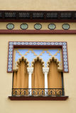 Spanish decorative window Stock Image