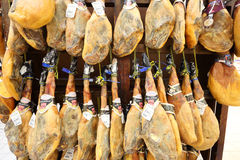 Spanish Delicacy Jamon Serrano Stock Photography