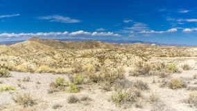 Spanish desert. Landscape photo: view to the desert of Tabernas in the South of Spain royalty free stock photos