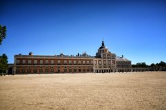 Spanish destination, Aranjuez. Historical royal city. Aranjuez, famous town in Spain for his beautiful royal palace and gardens Stock Photo