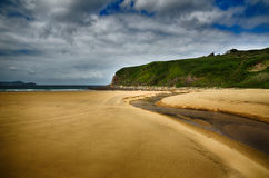 Spanish destination, Galicia, north-west region, Esteiro beach stock images