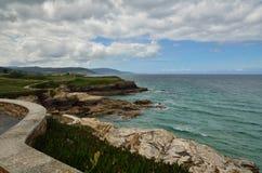 Spanish destination, Galicia, north-west region, Foz cliffs Stock Photo