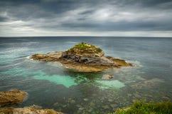 Spanish destination, Galicia, north-west region, Foz cliffs Stock Image