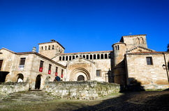Spanish destination, Santillana del Mar Stock Image