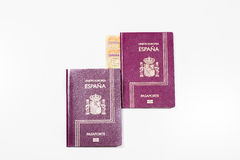 Spanish documentation. Royalty Free Stock Images