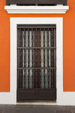 Spanish door Royalty Free Stock Images