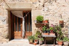 Spanish door in house Stock Images