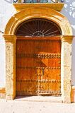 Spanish Door Royalty Free Stock Photos