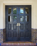 Spanish Doors Royalty Free Stock Photo