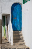 Spanish doorways Stock Image