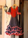 Spanish dress stock image