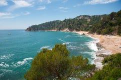 Spanish east coast Stock Image