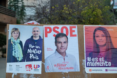 Spanish 2015 elections Stock Image