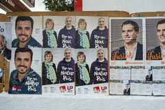 Spanish 2015 elections Stock Images