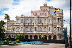 Spanish embassy building in old Havana Stock Photography