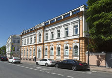 Spanish Embassy in the Russia Stock Photography