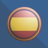 Spanish emblem Royalty Free Stock Photography