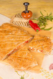 Spanish empanada still life Stock Photography