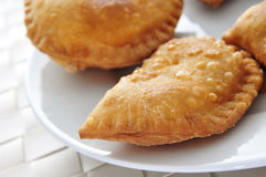 Spanish empanadillas, small meat or tuna pies Stock Images