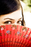 Spanish eyes Stock Images