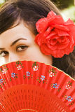 Spanish eyes Royalty Free Stock Photo