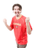 Spanish fan Royalty Free Stock Photos