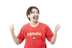 Spanish fan Stock Image