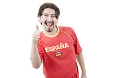 Spanish fan Stock Photography