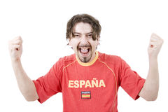 Spanish fan Royalty Free Stock Photography