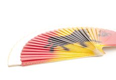 Spanish fan Royalty Free Stock Photo