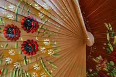 Spanish Fans. Close up of Spanish fans for sale in Sevilla, Spain Royalty Free Stock Image