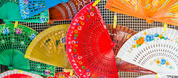 Spanish Fans Royalty Free Stock Photos